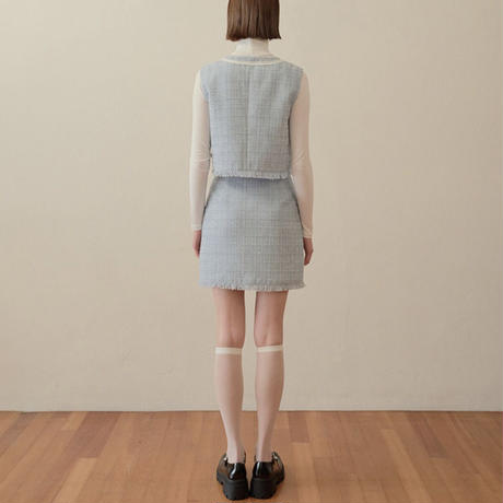 margarin fingers / lake tweed  skirt