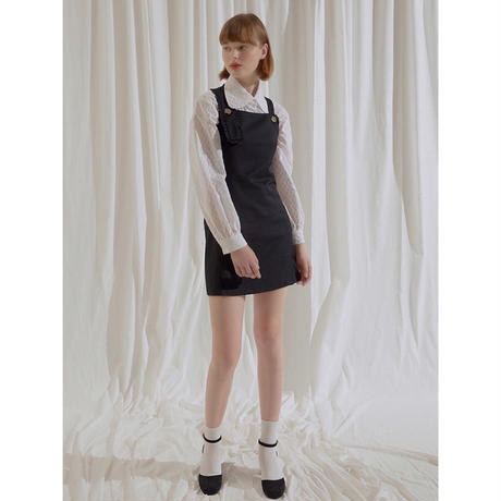margarin fingers  frill suspender one-piece