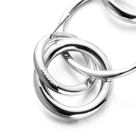 NUMBERING / Mixed Links Drop Earrings
