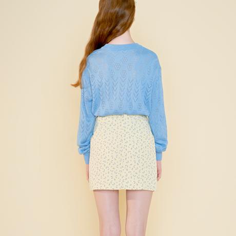 margarin fingers / wrinkle mini skirt