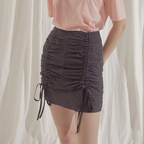 margarin fingers  double shirring skirt