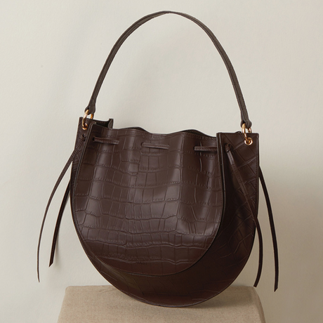 zudritt / cw Bag croc brown