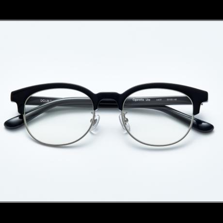 "Double Lovers ""CIGARETTE LITE"" -  black silver optical"