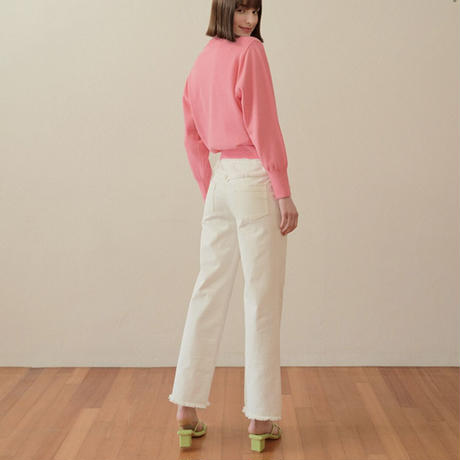 margarin fingers / muscat straight pants