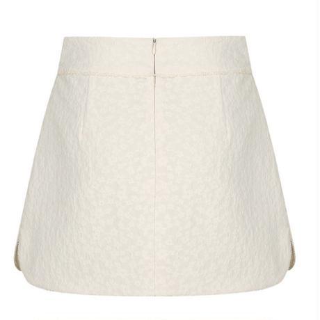 margarin fingers / jacquard slit skirt