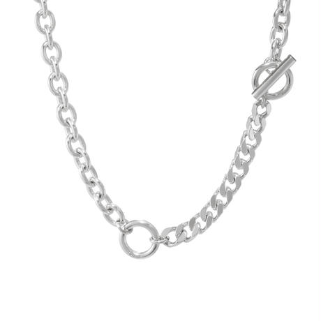 NUMBERING / Double Toggle Chain Necklace