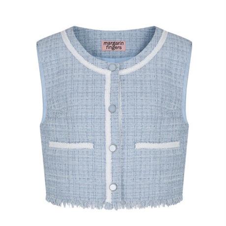 margarin fingers / lake tweed vest