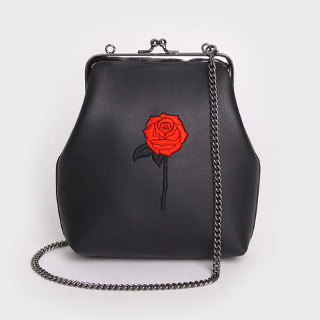 SAMO ONDOH  / 11° Mia Bag - black rose