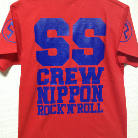 SS CREW T's 2015ver RED×BLUE