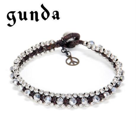 【gunda】 ガンダ BUBBLE 11 BR ブレスレット バングル ユニセックス