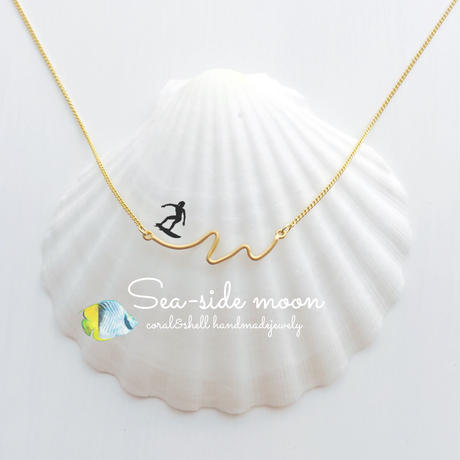 Wave Necklace(gold)