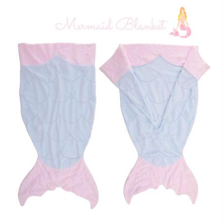 Mermaid Tail Blanket (SIZE 70×180)