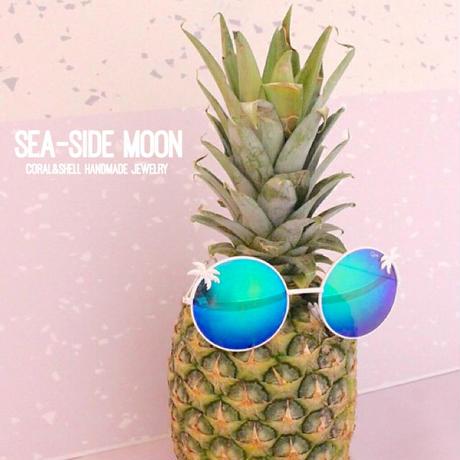 Palmtree Round Sunglasses