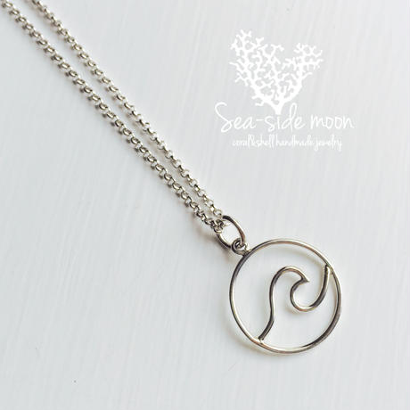 Wave Necklace【Silver925】