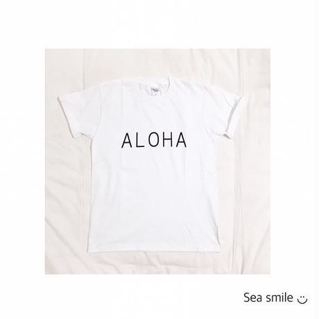 大人メンズ  ALOHA Tシャツ
