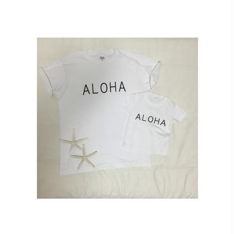 Papa &kidsセット/ ALOHA  T-シャツ