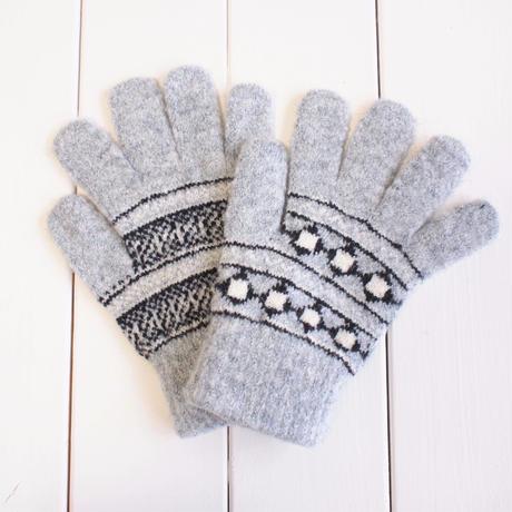 ノルディック手袋 / GRAY