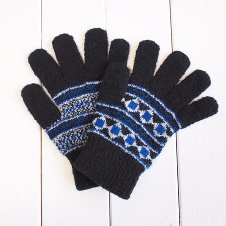 ノルディック手袋 / BLACK