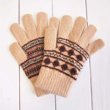 ノルディック手袋 / BEIGE