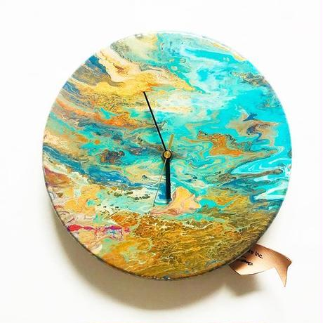 DROPPING PAINT CLOCK 1