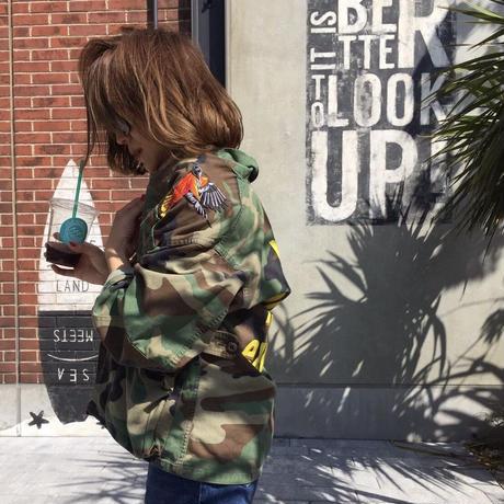 Re:make military jacket