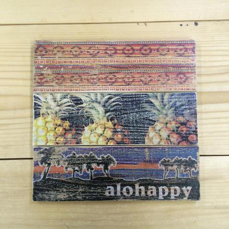 wood panel : ALOHAPPY