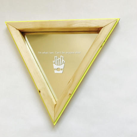 triangle mirror 【collar】