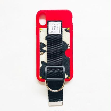 for iPhone【 animal 】red × black