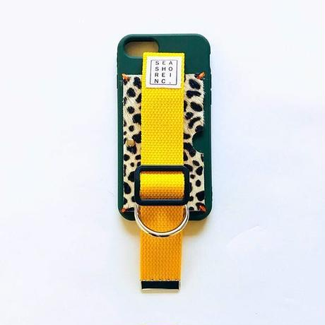 for iPhone【 animal 】green × yellow
