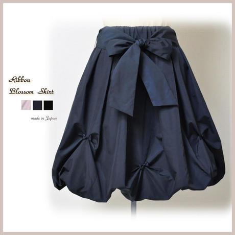 日本製 ブロッサム タフタ 大人 バルーンスカート