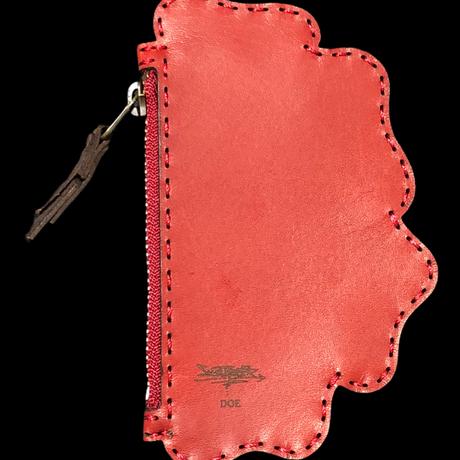 【SWITCH BOMB x DOE】KiVALANTE COIN CASE / RED