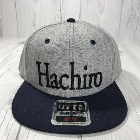 Hachiro  キャップ フラットキャップ OTTO スナップバック