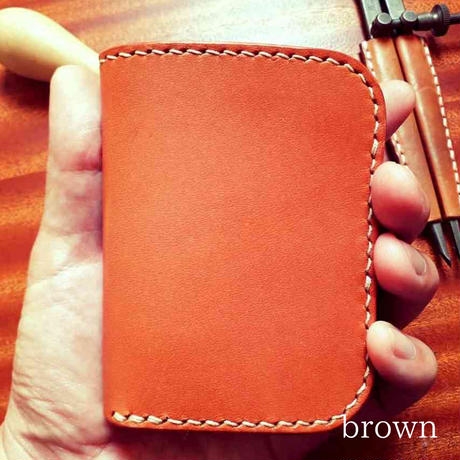 Leather Short Wallet