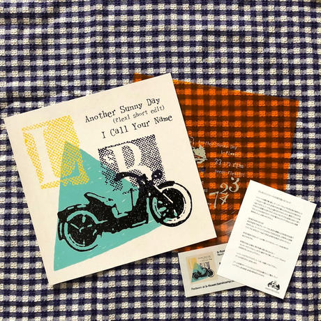 b-flower&The Laundries  スプリット7inch  FLEXI(ソノシート)