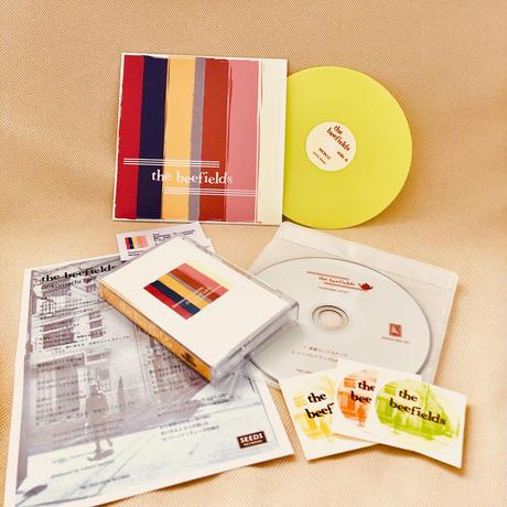 The Beefields「Gokomachi Ep」カセット、CD-R、ダウンロードコード+TOYレコード黄