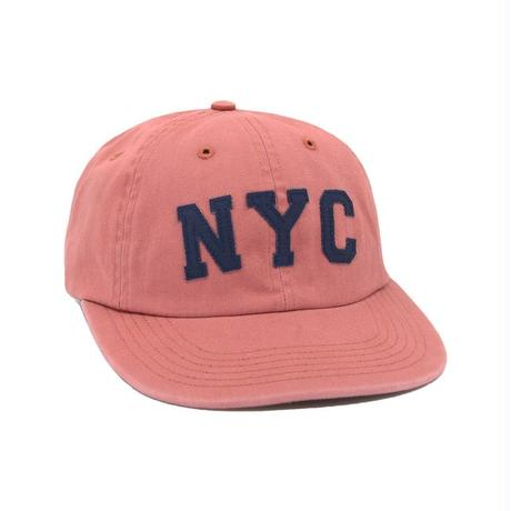ONLY NY NYC Polo Hat Nautical Red