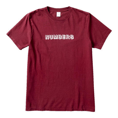 NUMBERS EDITION 3-D WORDMARK - S/S T-SHIRT 11601