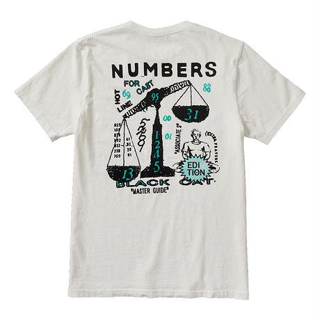 NUMBERS EDITION SCALES - S/S T-SHIRT 11602