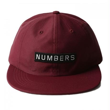 NUMBERS EDITION MITERED BOX - NYLON 6-PANEL HAT 11909