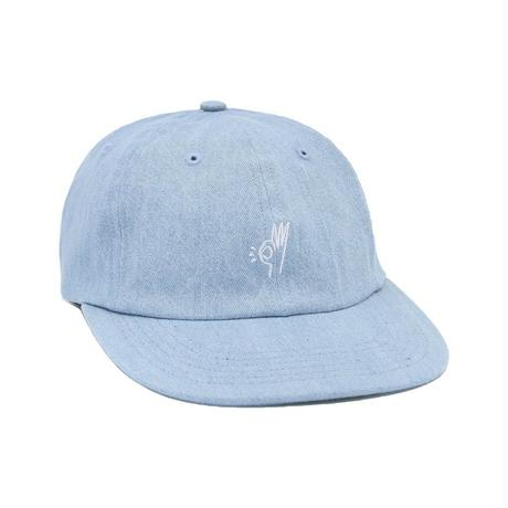 ONLY NY OK Polo Hat Washed Denim