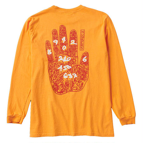 NUMBERS EDITION PSYCHIC READER - L/S T-SHIRT 11506