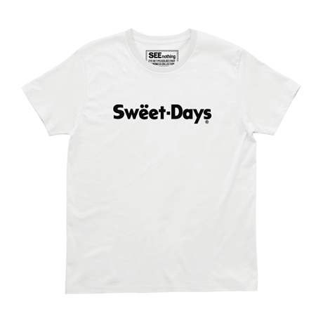 SWEET DAYS Tee - White