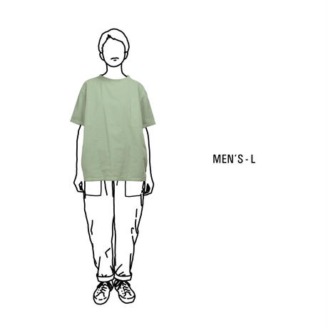 Gauze Men's Short Sleeve Pocket T-Shirt