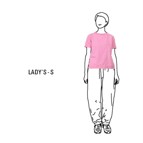 Gauze Lady'sShort Sleeve Pocket T-Shirt