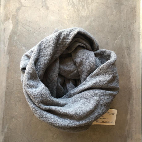 WOOL GAUZE LOOP MUFFLER