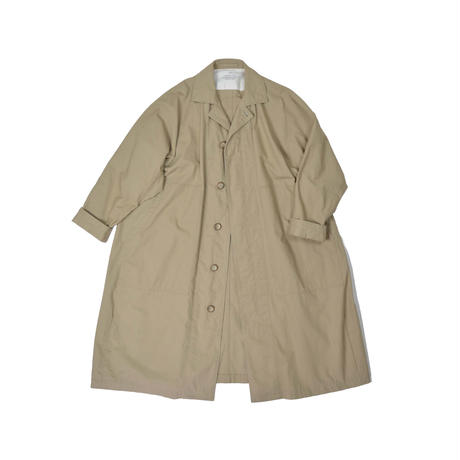 Organic Cotton Weather Balmacaan Coat
