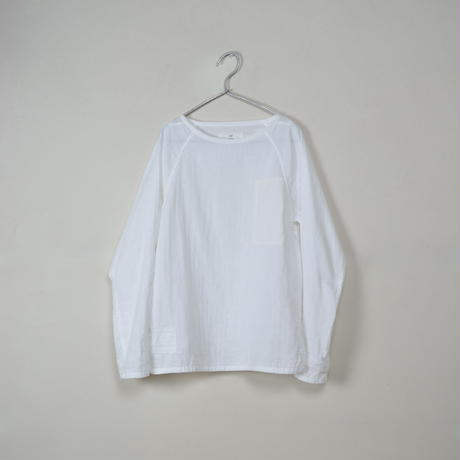 Men's Gauze Raglan B-Neck Sht.
