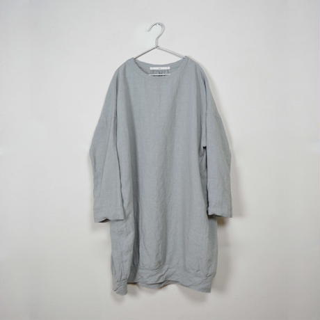 Linen Cocoon Tunic / L