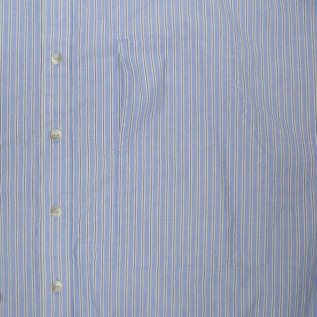 Blue Stripe Dolman No Collar Sht.