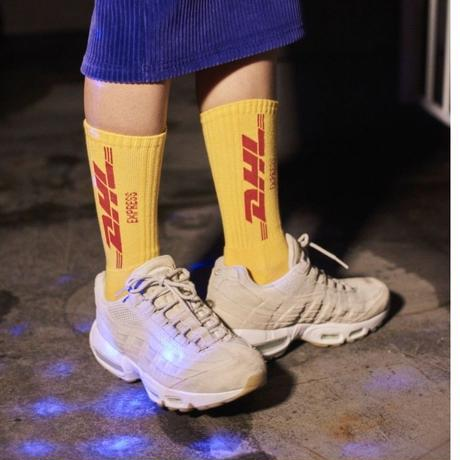 LOGO SOCKS YELLOW